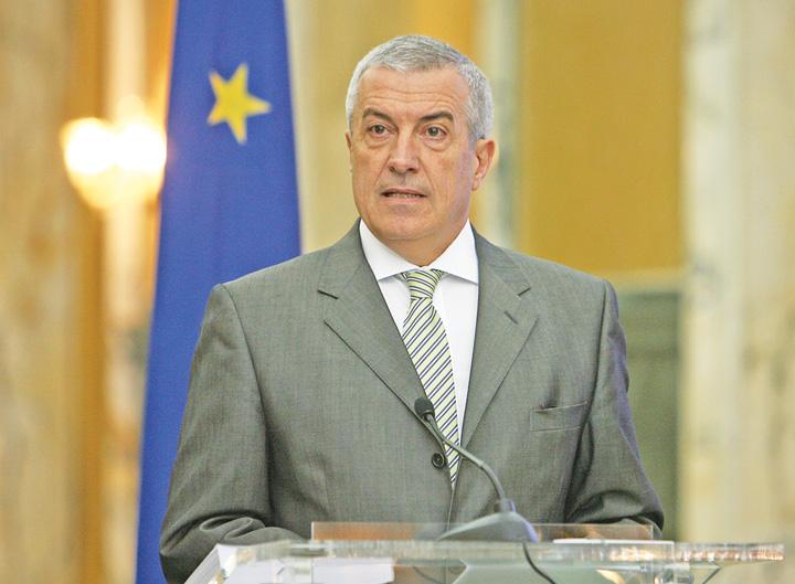 """tariceanu Tariceanu le cere ambasadorilor sa faca """"ciocu' mic"""""""