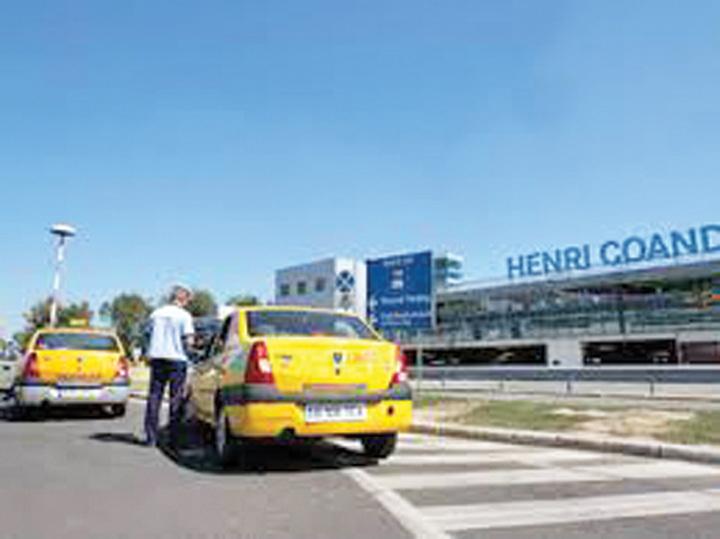 taxi aeroport Taximetristii, raia aeroporturilor romanesti