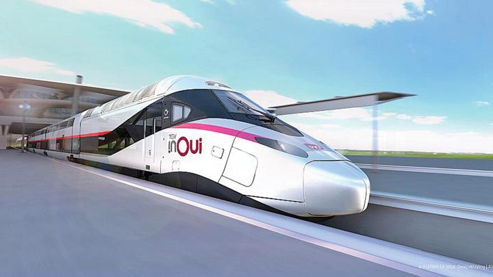tgv TGV, contract record pentru Alstom