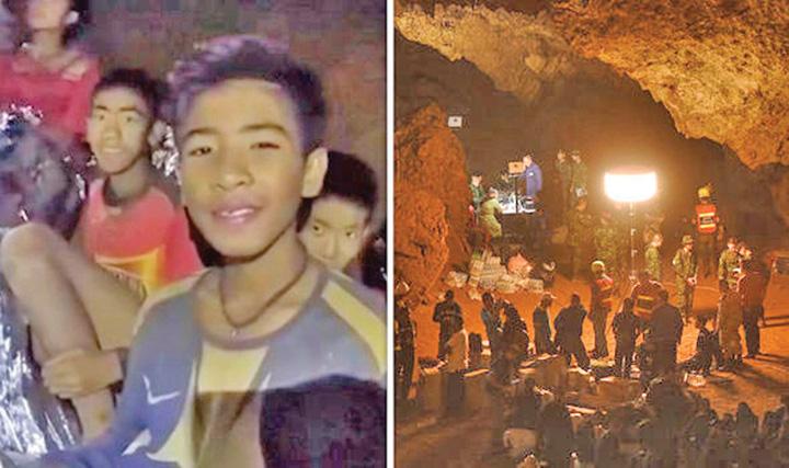 thailand cave rescue thailand cave rescue latest thailand cave rescue news thailand cave Tham Luang Cave thailand cave 985843 Toti cei 13 membri ai echipei de fotbal, SCOSI la suprafata in viata