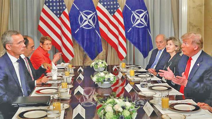 trump 1 Vrea un NATO cazinou pentru SUA