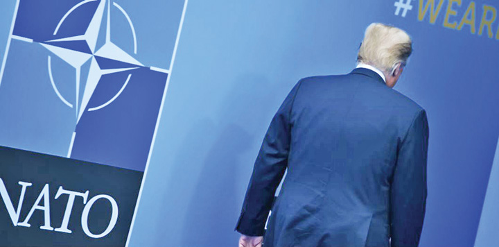 trump 2 Zilele NATO sunt numarate
