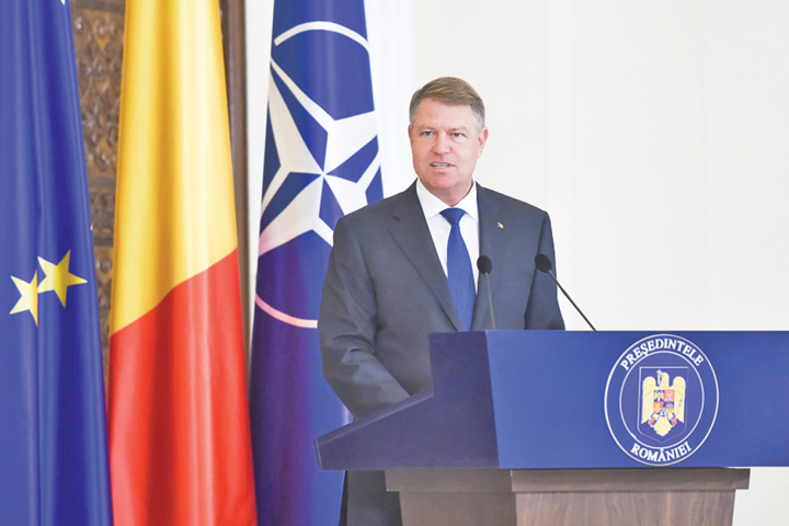 Iohannis Iohannis nu vede, n aude