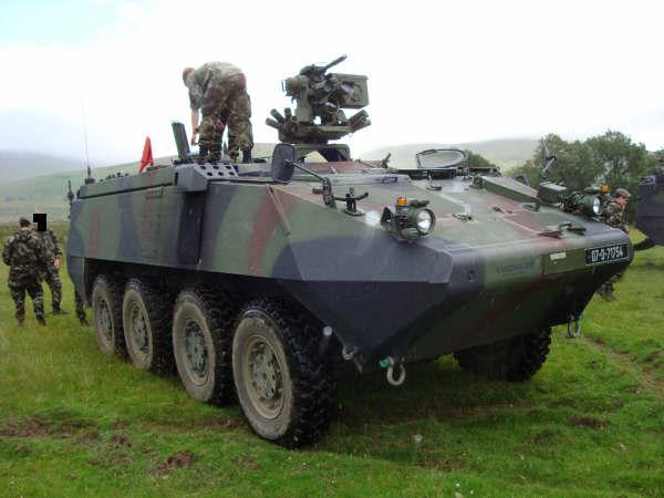 MowagPiranha3 SOC! Armata Romana, scoasa din NATO!