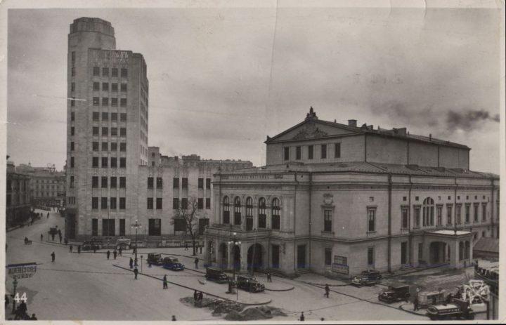 Teatrul cel Mare in 1944 720x463 Teatrul cel Mare, a fost odată în București (IV)