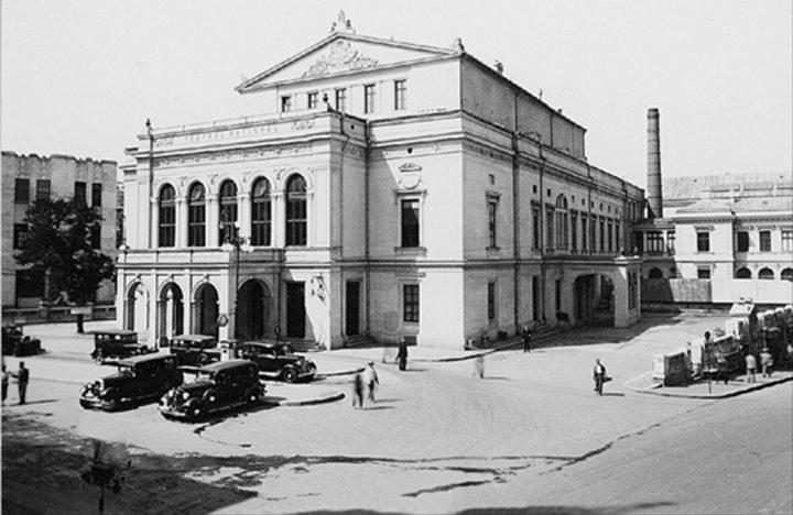 Teatrul cel Mare n perioada interbelica 720x468 Teatrul cel Mare, a fost odată în București (II)