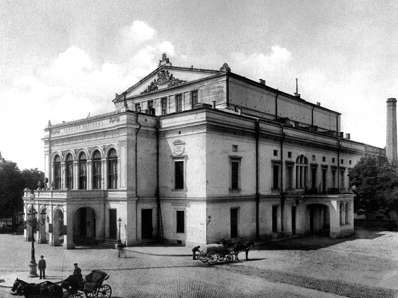 Teatrul National la 1900 Teatrul cel Mare, a fost odată în București (I)