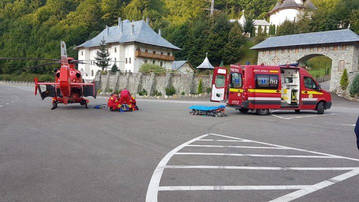 accid 2 720x405 Accident grav in Bistrita: o tanara mama a murit, fiul ei dus cu elicopterul la spital