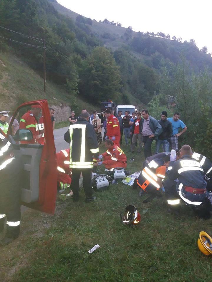 accid 3 Accident grav in Bistrita: o tanara mama a murit, fiul ei dus cu elicopterul la spital