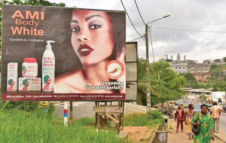 africa Africanii se albesc pe capete