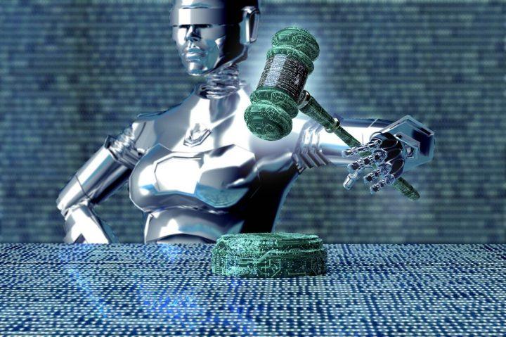ai judge artificial intelligence sentence criminal robot 720x479 Americanii vor sa robotizeze Justitia. In Romania nu se poate!