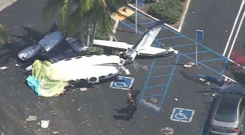 avi 350x193 Avion cazut intr o parcare din SUA: cinci oameni au murit (VIDEO)