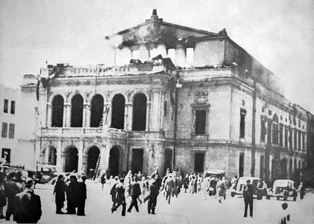 bombardat in 44 Teatrul cel Mare, a fost odată în București (IV)