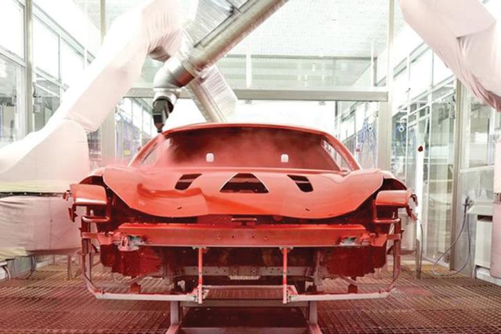 ferrari2 Ferrari vopseste eco