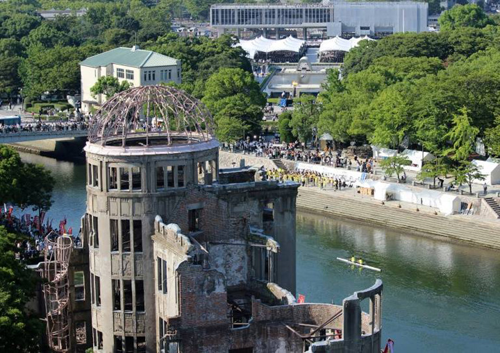 hiroshima 73 de ani de la bombardarea Hiroshimei