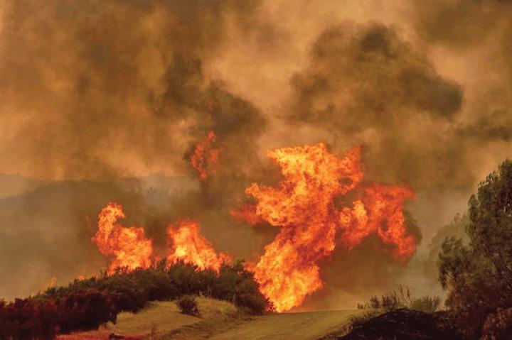 incendiu Incendiu istoric in California