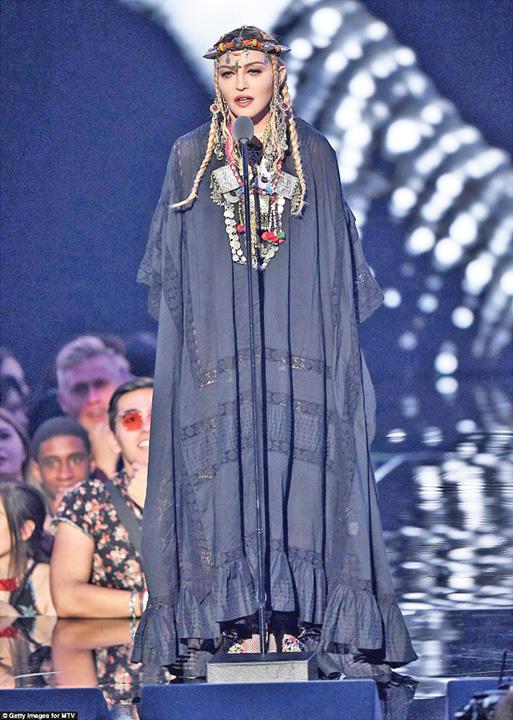 madonna 1 Madonna, narcisista de la MTV