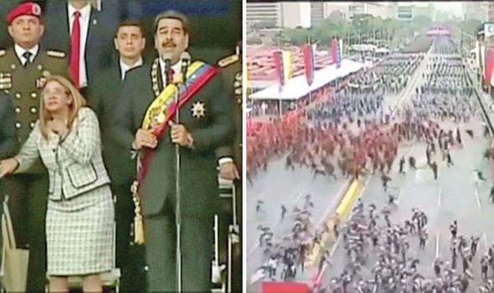 maduro Presedintele Venezuelei, atacat cu drone explozive