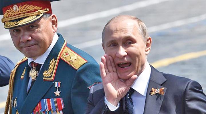 medalion putin Putin reinvie controlul ideologic al armatei