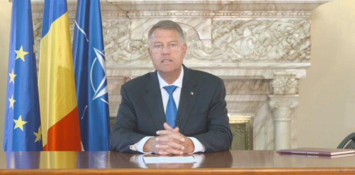 mesaj 720x356 Iohannis: nimeni nu si a asumat responsabilitatea politica pentru ce s a intamplat