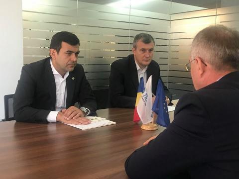 ministru 2 Chiril Gaburici: Am decis sa incep vizita oficiala in Romania cu discutiile cu Transgaz