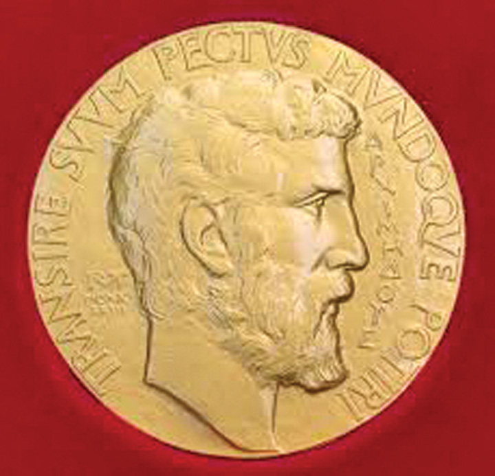 nobel medalion Nobelul pentru matematica, furat imediat dupa decernare