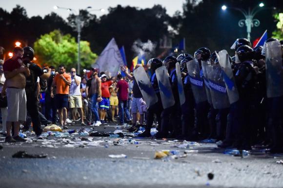 """piata jandarmerie Expert militar francez: """"Jandarmii au actionat corect in 10 august"""""""