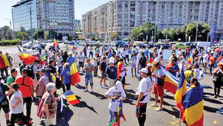 "piata victoriei protest Instigarile continua: ""Plecati pana nu moare cineva"""