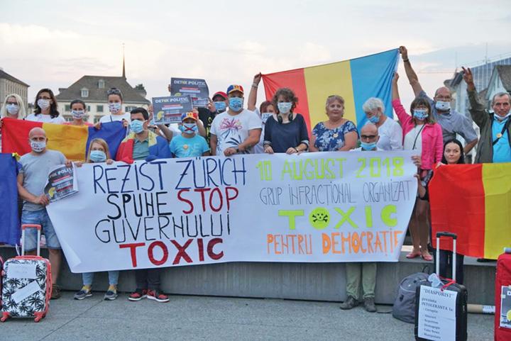 protest elvetia foto adela almasi Pe malul Lacului Leman se protesteaza high class