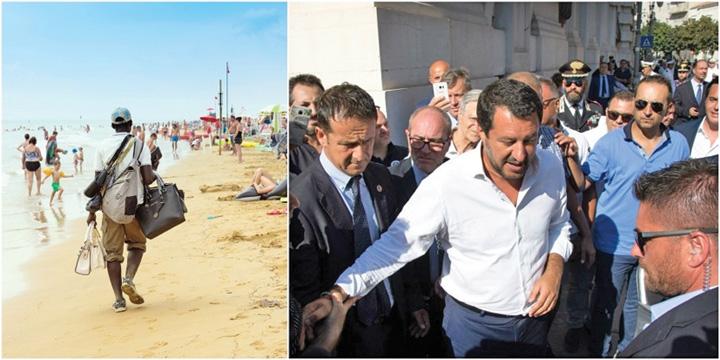 salvini 1 Salvini curata plajele de ambulanti