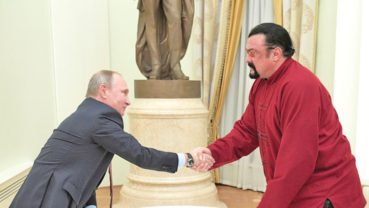 seagal Steven Seagal, in slujba diplomatiei lui Putin