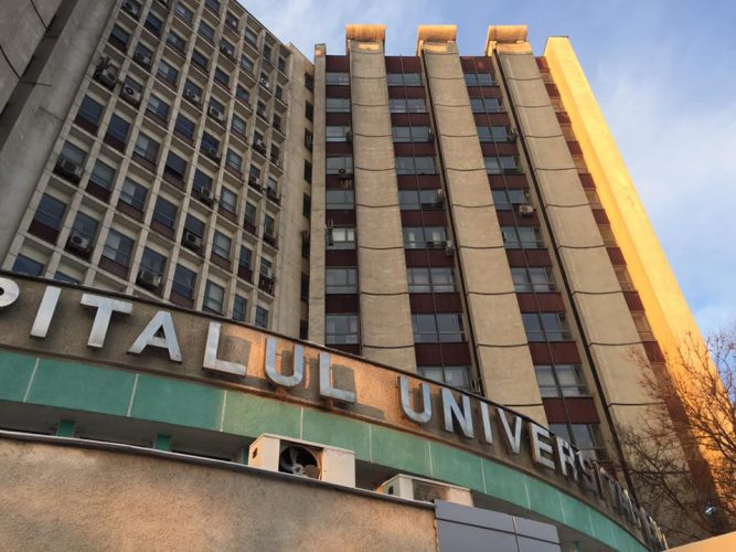 spital 667x500 Cei doi angajati de la Spitalul Universitar renunta la greva foamei