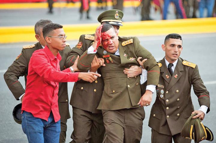venezuela Presedintele Venezuelei, atacat cu drone explozive