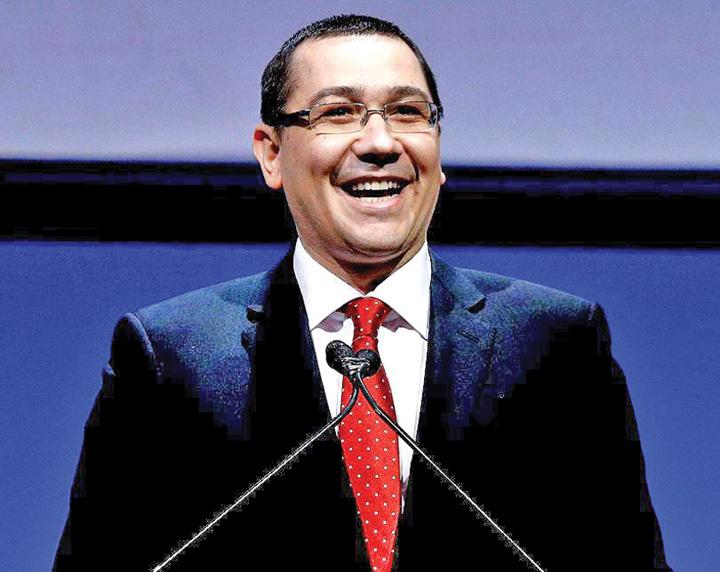 victor ponta Victor Ponta, subiect de stand up comedy