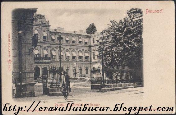 002Palatul Ministerului de finance Palatul Romanit, o istorie de peste două veacuri (I)