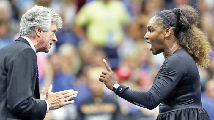 2 Serena Williams, criza de nervi la US Open