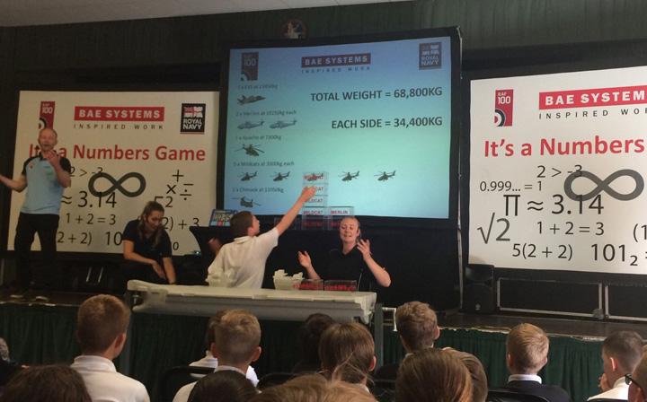 BAE Reclame in scoli pentru armamentul european