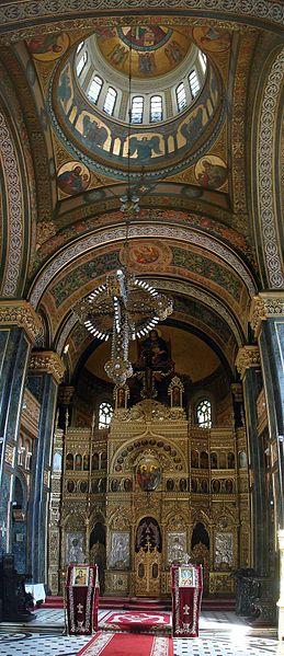 Biserica Domnita Balasa din Bucuresti   Altarul Domnița Bălașa, epopeea unei biserici epocale (II)