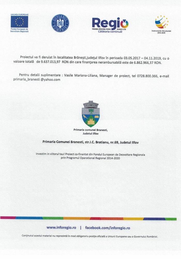 CCF24092018 0003 Comunicat de presa Finanțare nerambursabilă pentru proiectul Creșterea eficienței energetice pentru Liceul Tehnologic Cezar Nicolau Cod SMIS 118576