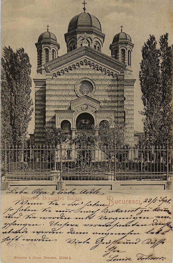 IL1400F26 Domnița Bălașa, epopeea unei biserici epocale (II)