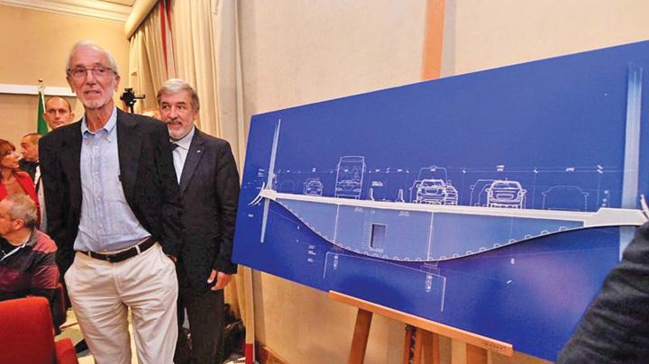 arhitect Macheta noului pod din Genova s a prabusit si ea