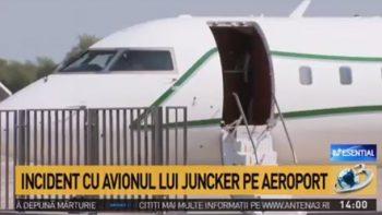 avi 350x197 UPDATE Avionul lui Juncker a decolat cu intarziere de la Baneasa