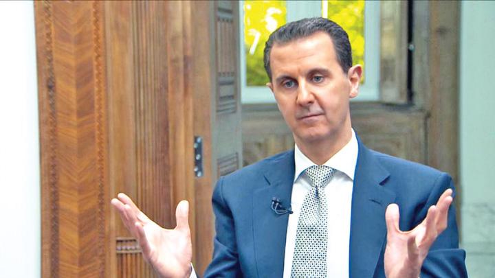 bashar Trump a ordonat asasinarea lui Bashar!