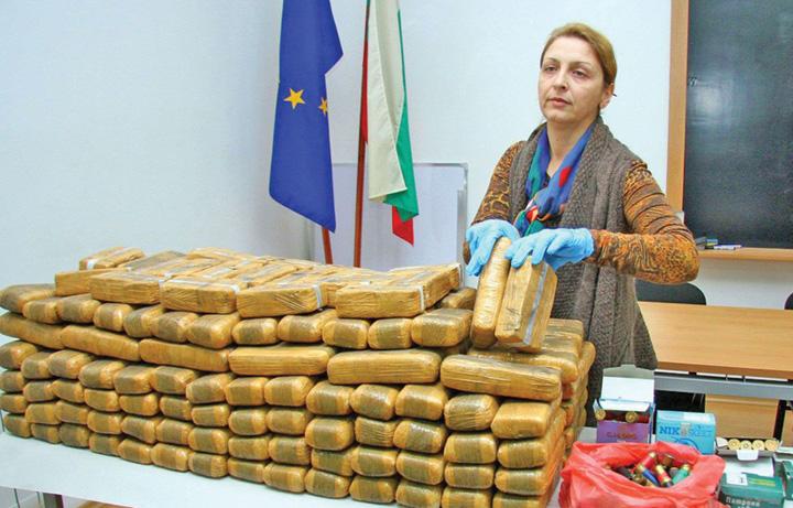 bulgaria Peste 700 kg de heroina, confiscate in Bulgaria