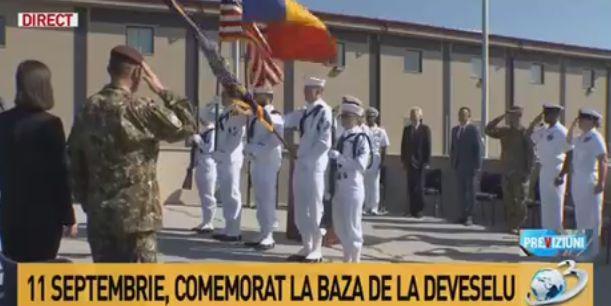 comemorare Victimele atacurilor de la 11 septembrie, comemorate la Deveselu