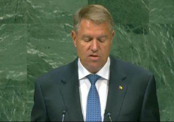 discurs 350x245 Iohannis, discurs la Adrunarea Generala a ONU