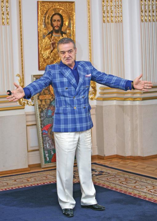 gigi becali E groasa la Steaua, s a enervat Gigi!