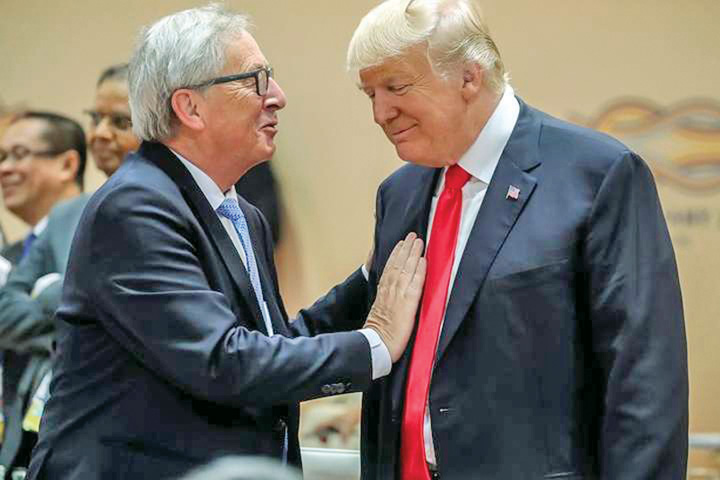 juncker 4 Juncker il inteapa pe Trump la ONU