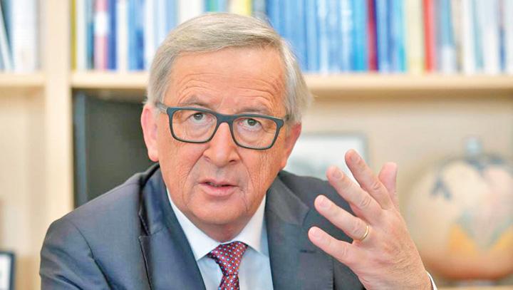 juncker Juncker vrea politie europeana de frontiera