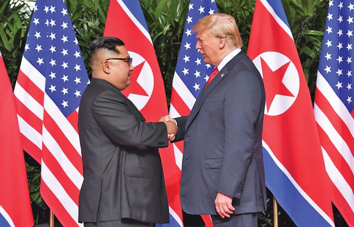 kim Kim mai vrea odata cu Trump